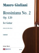 Giuliani, Mauro : Rossiniana No. 2 Op. 120 for Guitar