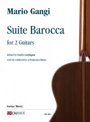 Gangi, Mario : Suite Barocca for 2 Guitars