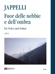 Jappelli, Nicola : Fuor delle nebbie e dell'ombra for Voice and Guitar (2014)