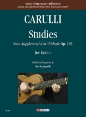"Carulli, Ferdinando : Studies from ""Supplemént à la Méthode"" Op. 192 for Guitar"