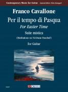 """Cavallone, Franco : Per il tempo di Pasqua (For Easter Time). Suite mistica (Meditations on """"Victimae Paschali"""") for Guitar (2010)"""