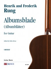 Rung, Henrik - Rung, Frederik : Albumsblade (Album Leaves) for Guitar
