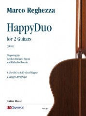 Reghezza, Marco : HappyDuo for 2 Guitars (2016)