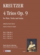Kreutzer, Joseph : 4 Trios Op. 9 for Flute, Violin and Guitar - Vol. 1: Trio No. 1