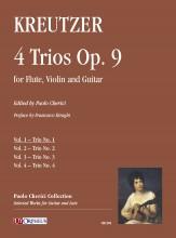 Kreutzer, Joseph : 4 Trios Op. 9 for Flute, Violin and Guitar - Vol. 1: Trio No. 1