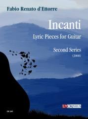 d'Ettorre, Fabio Renato : Incanti. Lyric Pieces for Guitar - Second Series (2008)