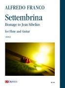 Franco, Alfredo : Settembrina. Homage to Jean Sibelius for Flute and Guitar (2016)