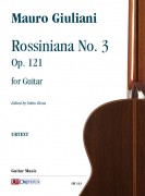 Giuliani, Mauro : Rossiniana No. 3 Op. 121 for Guitar