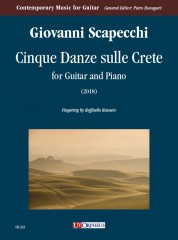 Scapecchi, Giovanni : Cinque Danze sulle Crete for Guitar and Piano (2018)