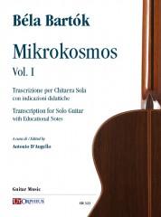 Bartók, Béla : Mikrokosmos Vol. I