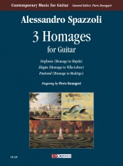 Spazzoli, Alessandro : 3 Homages for Guitar (2019)
