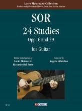 Sor, Fernando : 24 Studies Opp. 6 and 29 for Guitar