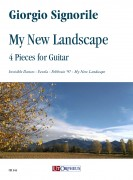 Signorile, Giorgio : My New Landscape. 4 Pieces for Guitar