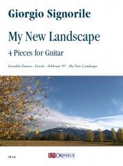Signorile, Giorgio : My New Landscape. 4 Pieces for Guitar