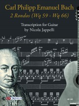 Bach, Carl Philipp Emanuel : 2 Rondos (Wq 59 - Wq 66) for Guitar