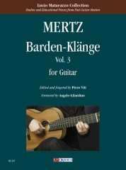 Mertz, Johann Kaspar : Barden-Klänge for Guitar - Vol. 3