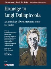 Homage to Luigi Dallapiccola. An Anthology of Contemporary Music for Guitar (Cattaneo, Cebic, Gambelli, Mandonico, Reghezza, Simoni, Spazzoli, Vezzoli)