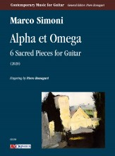 Simoni, Marco : Alpha et Omega. 6 Sacred Pieces for Guitar (2020)