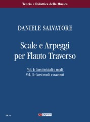 Salvatore, Daniele : Scales and Arpeggios for Flute - Vol. 1: Beginner and Intermediate courses