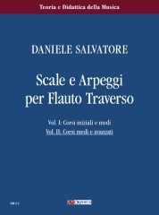 Salvatore, Daniele : Scales and Arpeggios for Flute - Vol. 2: Intermediate and Advanced courses