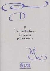 Randazzo, Rosario : 30 Exercises for Piano