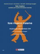 Spaggiari, Gabrielangela : Fare musica insieme N. 1. Musica per strumentario Orff