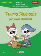 Tessier, Adriana : Teoria musicale per piccoli chitarristi (Livello 2)