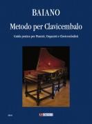 Baiano, Enrico : Metodo per Clavicembalo. Guida pratica per Pianisti, Organisti e Clavicembalisti