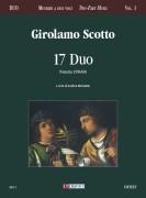 Scotto, Girolamo : 17 Duos (Venezia 1558/60)