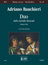 """Banchieri, Adriano : Duo from """"Cartella Musicale"""" (Venezia 1614)"""