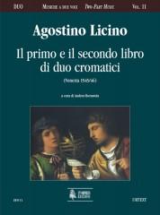 Licino, Agostino : Il Primo e Secondo Libro di Duo cromatici (Venezia 1545/46)
