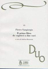 Sangiorgio, Pietro : Il primo libro de Capricci a due voci (Venezia 1608)