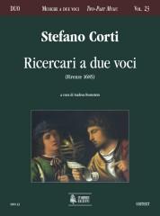 Corti, Stefano : Ricercari a due voci (Firenze 1685)