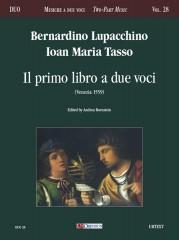 Lupacchino, Bernardino - Tasso, Ioan Maria : Il primo libro a due voci (Venezia 1559)