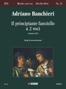 Banchieri, Adriano : Il principiante fanciullo a due voci (Venezia 1625)