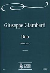 Giamberti, Giuseppe : Duo (Roma 1657)