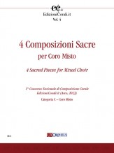 4 Sacred Pieces for Mixed Choir (1st National Choral Composition Competition EdizioniCorali.it - Cat. C)