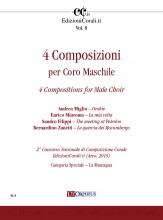 4 Compositions for Male Choir (2nd National Choral Composition Competition EdizioniCorali.it - Cat. Speciale 'La Montagna')