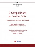 2 Compositions for Mixed Choir (SATB) (2nd National Choral Composition Competition EdizioniCorali.it - Cat. C)