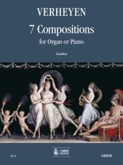 Verheyen, Pierre Emmanuel : 7 Compositions for Organ or Piano