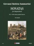 Sammartini, Giovanni Battista : Sonatas for Harpsichord - Vol. 1: 18th century printed sources