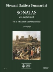 Sammartini, Giovanni Battista : Sonatas for Harpsichord - Vol. 2: 18th century handwritten sources
