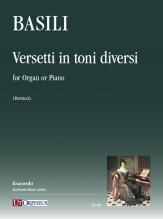 Basili, Francesco : Versetti in toni diversi for Organ or Piano