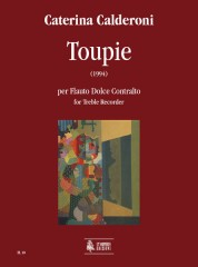 Calderoni, Caterina : Toupie for Treble Recorder (1994)