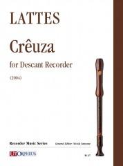 Lattes, Edoardo : Crêuza for Descant Recorder (2004)