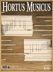 Hortus Musicus (Anno V - N. 18)
