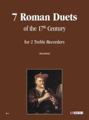 7 Roman Duets of the 17th century for 2 Treble Recorders