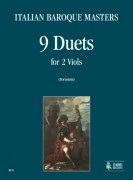 Italian Baroque Masters : 9 Duets for 2 Viols