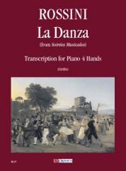 """Rossini, Gioachino : La Danza (from """"Soirées Musicales"""") for Piano 4 Hands"""