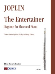 Joplin, Scott : The Entertainer. Ragtime for Flute and Piano
